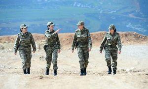 عکس/ حضور زنان ارتش ترکیه در عملیات شاخه زیتون