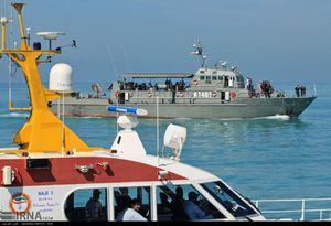 عکس/ رزمایش امداد و نجات دریایی در بوشهر