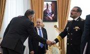 دیدار وزیر خارجه فرانسه با شمخانی - کراپشده