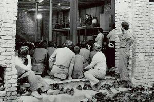 عکس/ سخنرانی امام خمینی (ره) در جماران؛ سال ۵۹