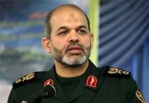 واکنش سردار وحیدی به سفر وزیر خارجه فرانسه به تهران