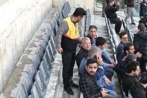 عکس/ تماشاگر ویژه دیدار پرسپولیس و الوصل