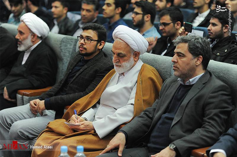 نشست معاون اول قوه قضاییه با دانشجویان دانشگاه تربیت دبیر شهید رجایی