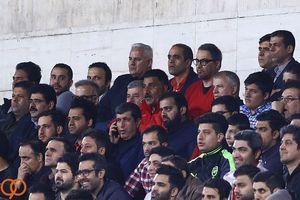 عکس/ بازگشت علی پروین به استادیوم آزادی