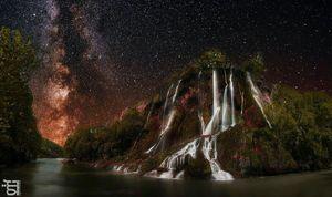 """عکس/ """"دورود""""؛ سرزمین لالهها و آبشارهای ایران"""