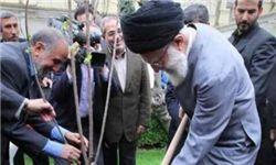 بیانات رهبر انقلاب در هفته درختکاری در سالهای گذشته +عکس