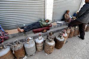 عکس/ کمبود گاز در یمن