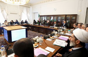 روحانی:حضور ۳ زن در کابینه نشانه توجه دولت به حقوق زنان است