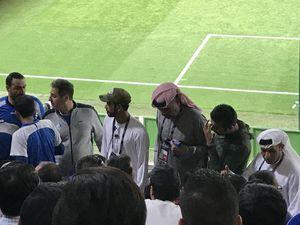 جلوگیری از ورود پرچمهای ایران به ورزشگاه بن زاید