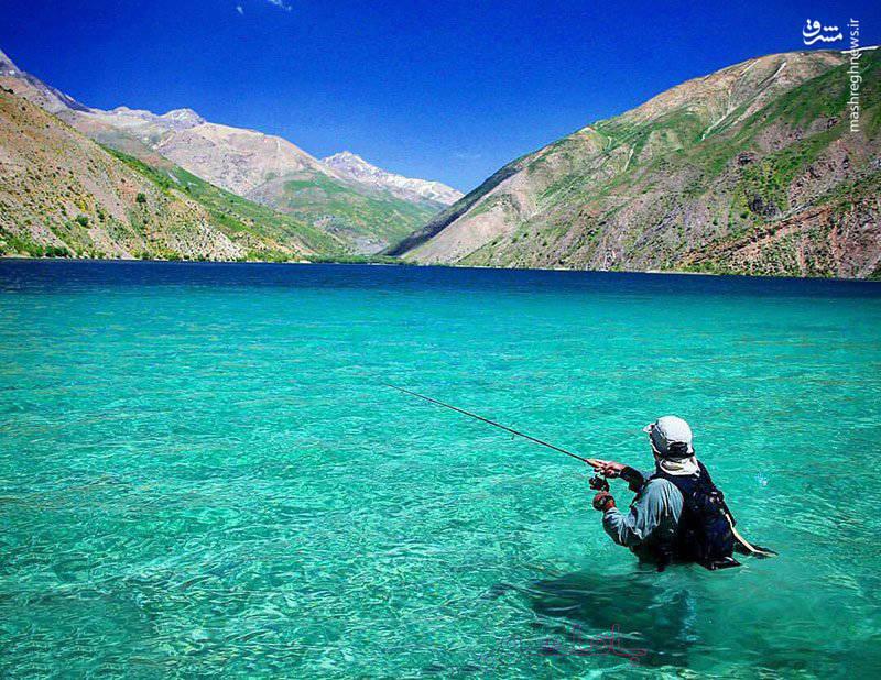 گهر از بهترین مکان ها برای صید ماهی قزل آلاست.