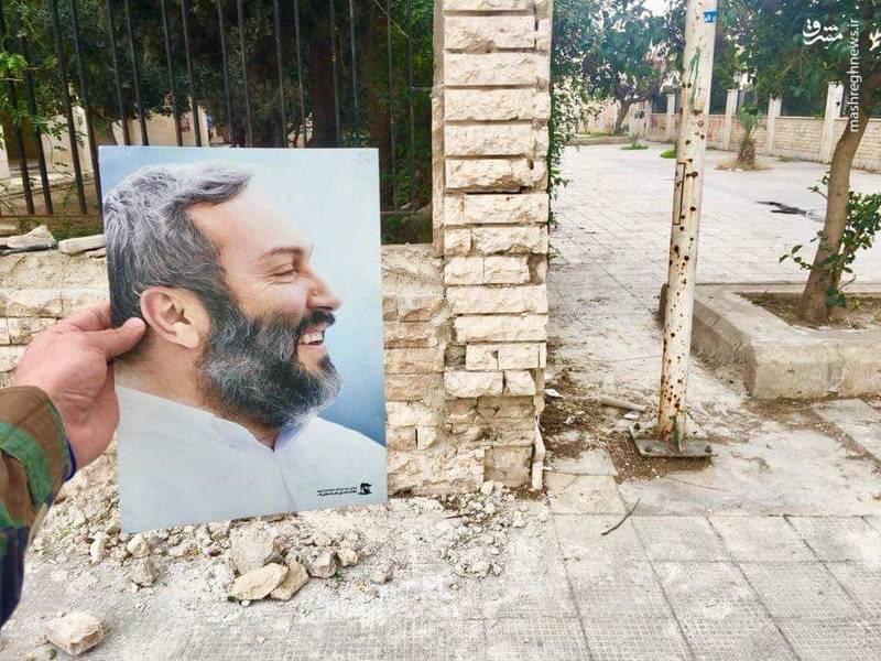 محل شهادت عماد مغنیه در سوریه