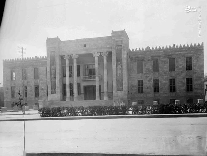ساختمان بانک ملی در زمان قاجار
