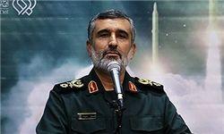 فیلم/ پایگاههای آمریکا در تیررس موشکهای ایران