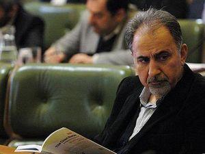 حضور نجفی در جلسه هیات دولت پس از استعفایش از شهرداری +عکس
