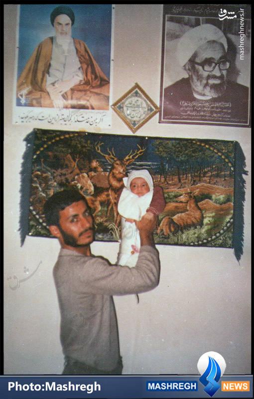 حاج «محمدابراهیم همت» و فرزندش «محمدمهدی»