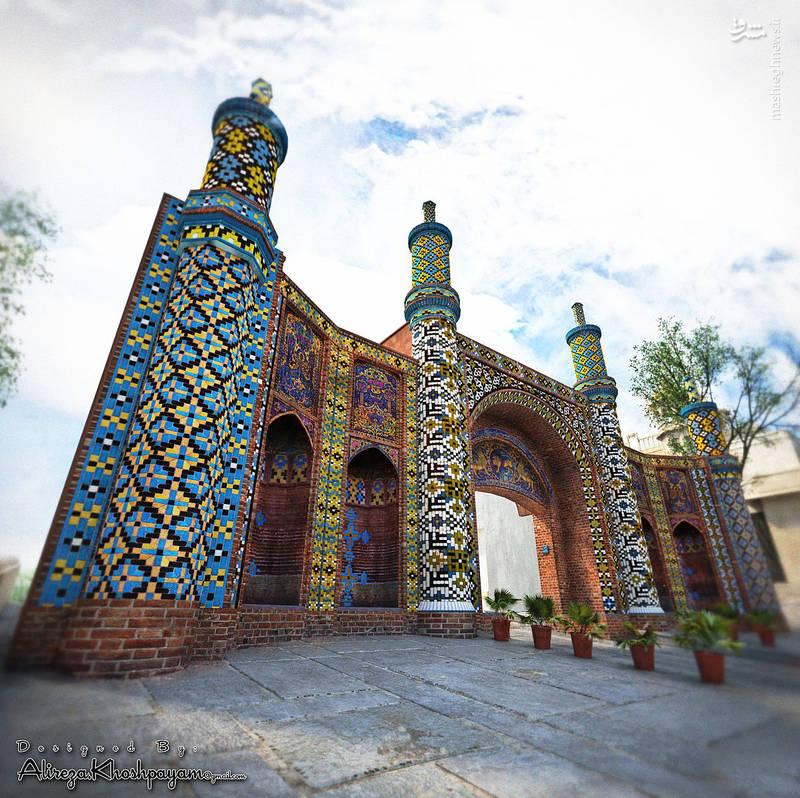 دروازه درب کوشک قزوین