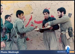 پس از اخراج ضدانقلاب از یکی از شهرهای کردستان