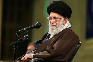 جمعی ازمداحان و ذاکران اهل بیت(ع) با رهبر معظم اسلامی دیدار کردند