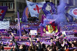 عکس/ تشییع باشکوه ستاره فوتبال ایتالیا