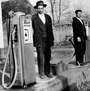 عکس/ پمپ بنزین در ایران قدیم
