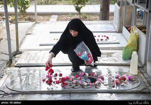 عکس/ حالوروز مادران شهدا در روز مادر