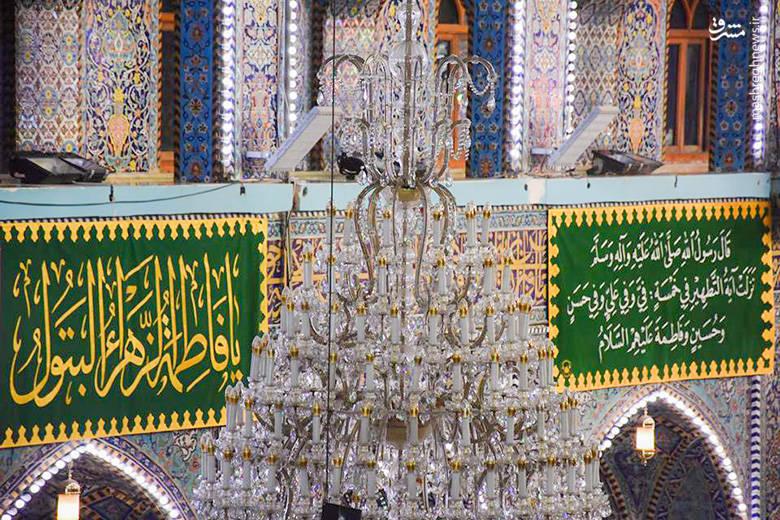 2208036 - حالوهوای کربلا در روز ولادت حضرت زهرا (س)