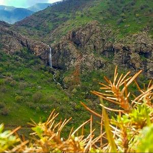 عکس/ آبشاری زیبا در مریوان