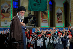 دیدار نوجوانان و جوانان تهرانی و البرزی عازم راهیان نور با رهبر معظم انقلاب