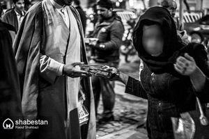 عکس/ آتش به اختیار روحانیون برای معتادان