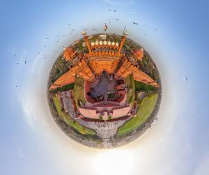 تصویر 360درجه زیبا از دهلی نو