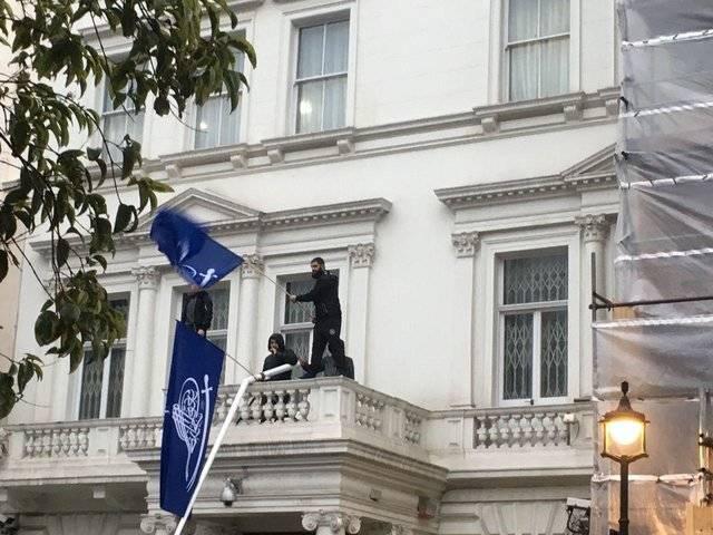 فیلم/ پایان غائله تعرض به سفارت ایران در لندن