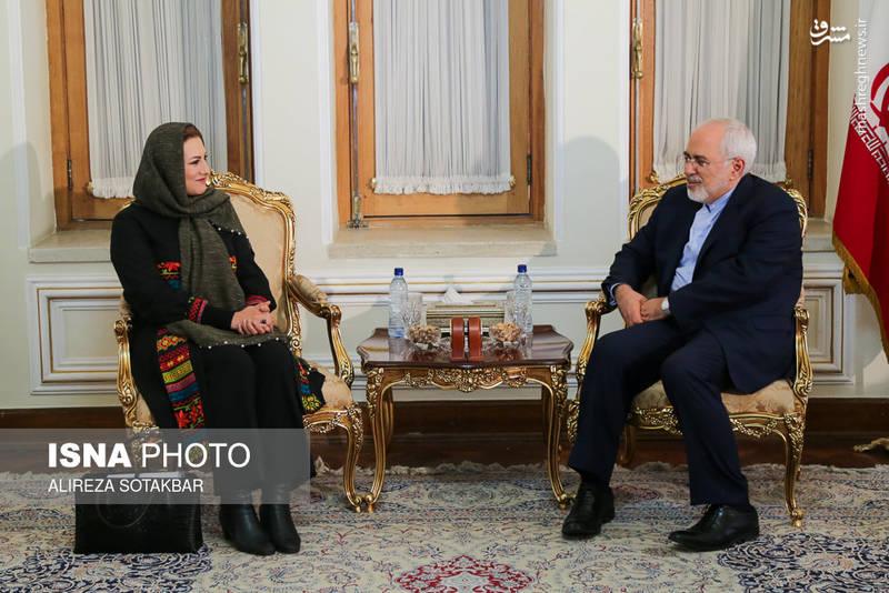 تقدیم معرفینامه رییس جدید دفتر unido در تهران