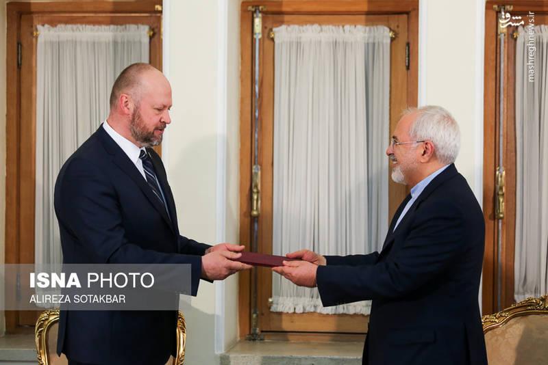 تقدیم معرفینامه رییس جدید دفتر unodc در تهران
