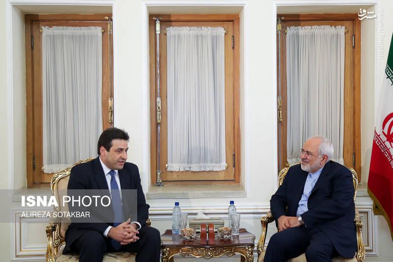دیدار سفیر جدید لبنان در ایران با محمدجواد ظریف