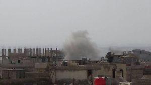شلیک ۱۵۰ خمپاره به شهرکهای محاصره الفوعه و کفریا برای توقف عملیات در غوطه شرقی دمشق + تصاویر