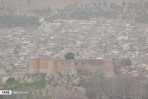 عکس/ وضعیت قرمز در خرم آباد