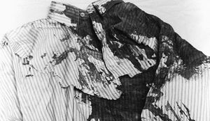 عکس/ آخرین پیراهن یک رییس جمهور