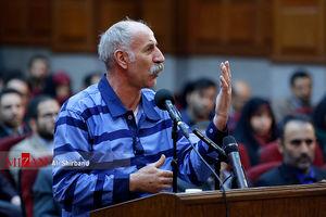 عکس/ دادگاه محاکمه راننده اتوبوس خیابان پاسداران