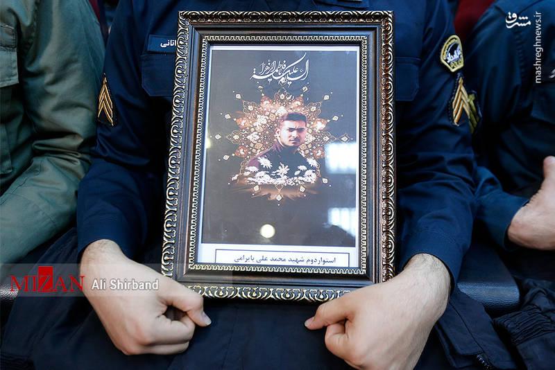 تصویر شهید محمدعلی بایرامی از شهدای حادثه خیابان پاسداران