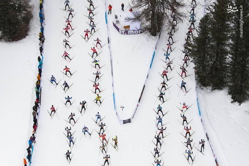 مسابقات اسکیت ماراتن در سوئیس