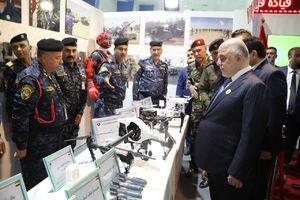 عکس/ نمایشگاه تسلیحات نظامی عراق