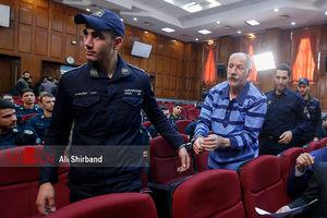 عکس/ دومین جلسه دادگاه راننده اتوبوس قاتل