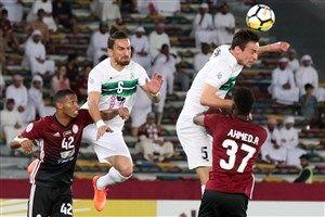فیلم/خلاصه بازی الوحده امارات 3 - 0 ذوب آهن