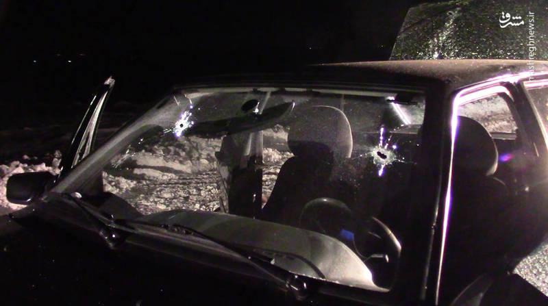 مقامات امنیتی سعی کردند ماشین مجرمان را متوقف و آنها را بازداشت کنند