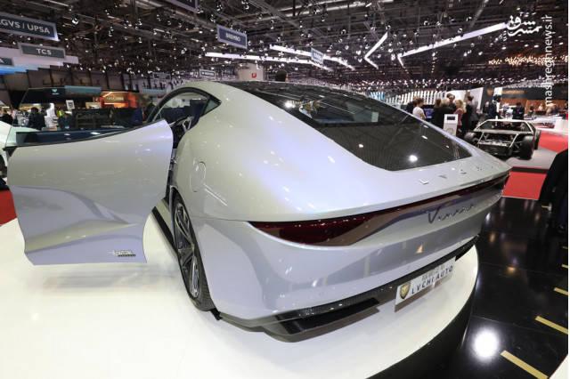 شرکت تازه تاسیس LVCHI اوتو چین واقع در شانگهای از محصولی جدید در نمایشگاه خودروی ژنو 2018 پرده برداشت.