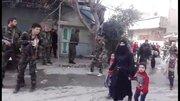 خروج چهارهزار غیر نظامی از غوطه شرقی