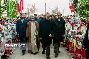 عکس/ سفر لاریجانی به قوچان