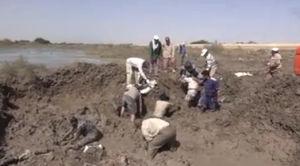 فیلم/ کشف پیکر مطهر یک شهید در مناطق سیلزده