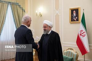 دیدار وزیر اقتصاد جمهوری آذربایجان با روحانی