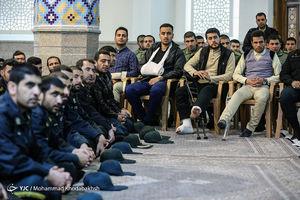 عکس/ بزرگداشت شهدای حادثه خیابان پاسداران